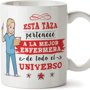 taza regalos para enfermeras